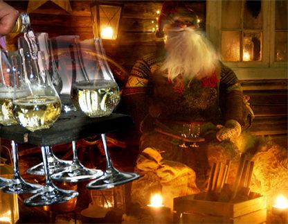 Serveringsbrett for akevitt fra Viken Sag Hafjell og Viken Ide Hafjell