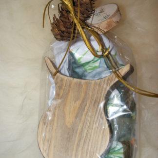 Gavepakke med t-skjorte til barn fra Viken Ide Hafjell
