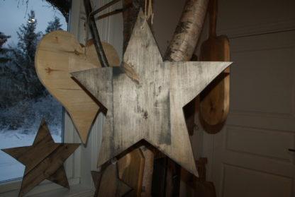 Stjerne i norsk tre fra Viken Ide Hafjell